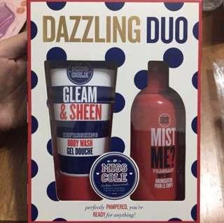 Miss cole dazzling duo body wash set