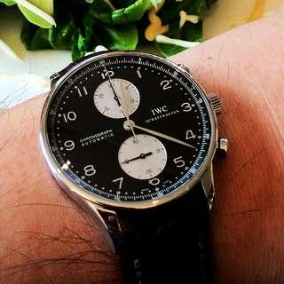 IWC Portuguese Chronograph 3714 Box & Papers