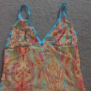 NEW LADYS CAMISOLES SIZE SMALL/ MEDIUM