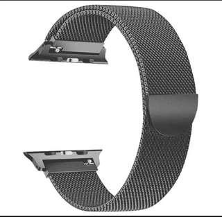 42mm Magnetic Clasp Mesh Loop Stainless Steel Replacement Strap For Apple Watch Sport Edition Serice 1/2/3/4