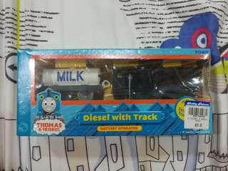 Disel with Track - Thomas and Friends
