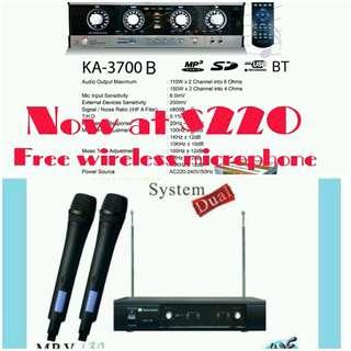 Martin Roland Ka-3700B FREE Wireless microphone