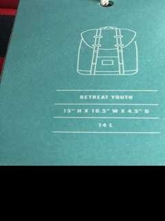 Brand new genuine herschel backpack