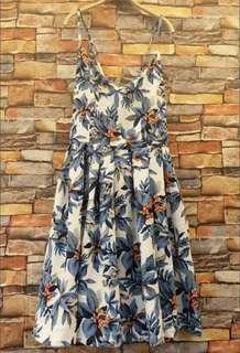 🚚 轉售 露背花卉洋裝