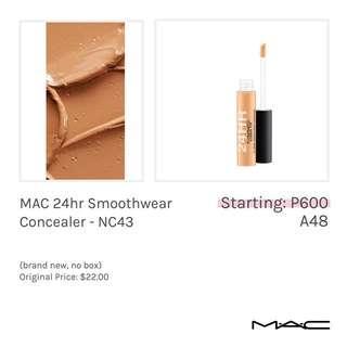 MAC 24hr Smoothwear Concealer - NC43