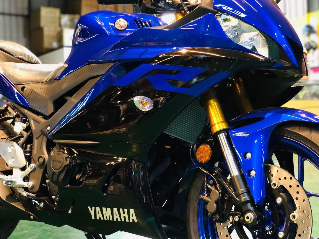 2019 山葉黃牌重機總代理 現貨 YAMAHA R3 ABS 在店銷售熱賣中