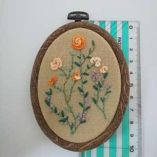 Embroidery wall deco Code#EW106B6.5F