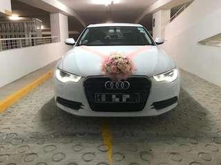 Audi A6 Wedding Car Rental w/ Driver