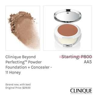 Clinique Beyond Perfection™ Powder Foundation + Concealer - 11 Honey