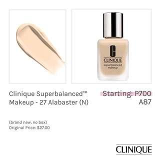 Clinique Superbalanced Makeup - 27 Alabaster (N)