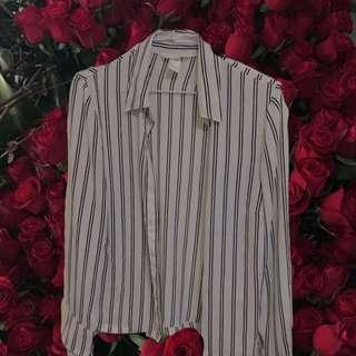 🚚 H&M雪紡襯衫