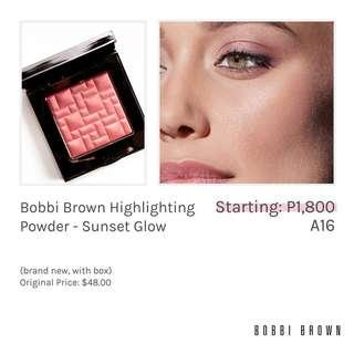 Bobbi Brown Highlighting Powder - Sunset Hlow