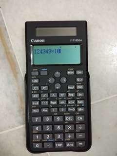 Scientific Calculator - Canon F-718SGA