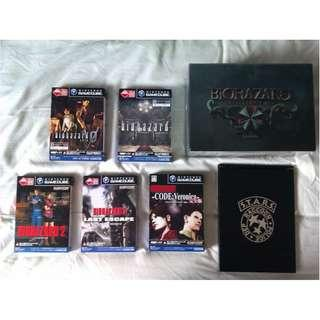 Games-Biohazard Collector Box Set(Used)+Extras