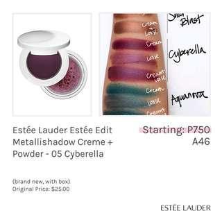 Estée Lauder Estée Edit Metallishadow Creme + Powder - 05 Cyberella