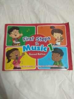 P1 first steps to music