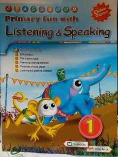 classroom primary 1 fun with listening and speaking