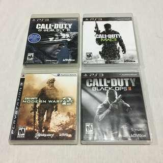 CALL OF DUTY -PS3