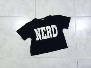 nerd crop top