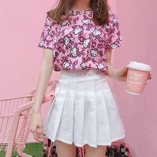 Pre order pink hello kitty top t shirt  RBT0066