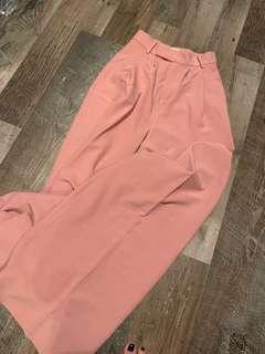 🚚 Pink wide long pants