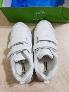 School Shoes White