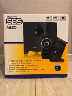 Brand New Creative 2.1 Sound System A320