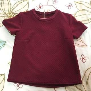 Red Blouse (maroon)