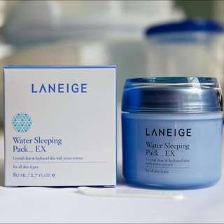 New LANEIGE Water Sleeping Pack - EX