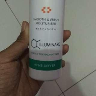 Illuminare smooth and fresh moiturizer (acne defyer)