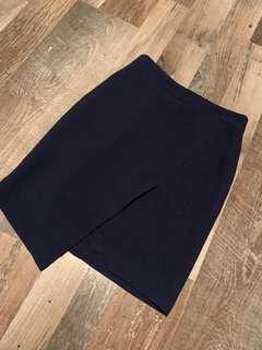 🚚 Dark blue skirt from korea
