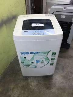 LG top load washing machine 7kg fully auto