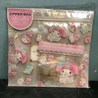 My melody X Alice zipper bag