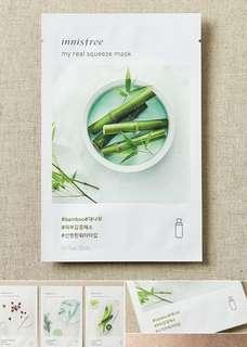 Innisfree Paper Mask my real 面膜