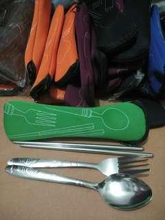 SALE! 25PCS Spoon, Fork & Chopstick Set