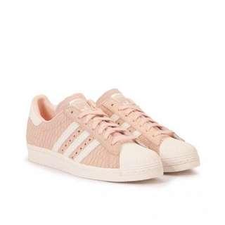 Adidas Superstar Pink Snakeskin