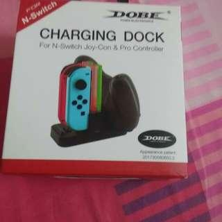 nintendo switch dobe charging dock