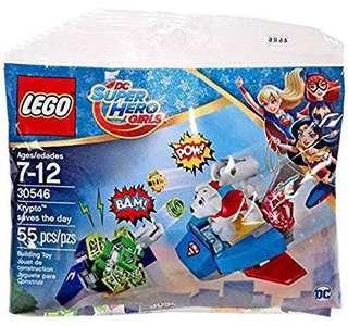 Toytoy LEGO 30546 Krypto saves the day polybag DC Super Heroes Girls