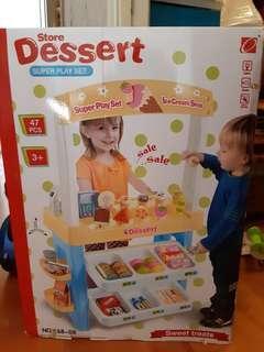 廚房玩具 雪糕甜品小賣店 收銀機