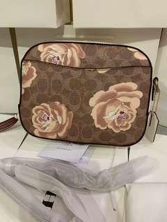 Coach camera bag rose edition 31695