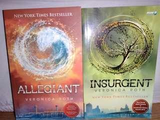Insurgent & Allegiant (Indonesian Version)