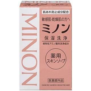 Minon 敏感肌洗臉皀 保濕潔淨