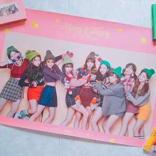 Twice Posters MERRY AND HAPPY