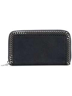 Stella Mccartney Chain Top Zip Wallet