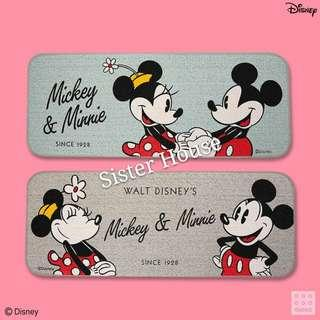 🇰🇷Daiso x Disney Mickey Mouse Minnie Mouse Mat 廸士尼米奇米妮老鼠地毯