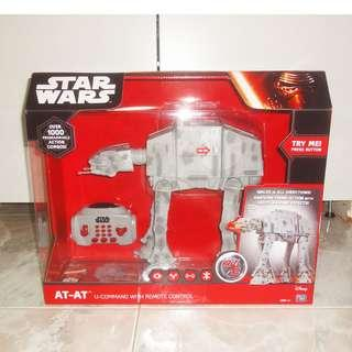Star Wars At-At U Command Remote Control Walker Light And Sound Disney The Empire Strikes Back New
