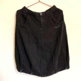 🚚 a la sha 黑色裙