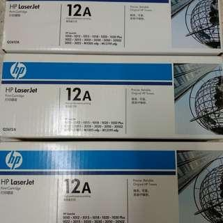 Negotiable Original Hp Laserjet Print Cartridge 12A Printer Ink