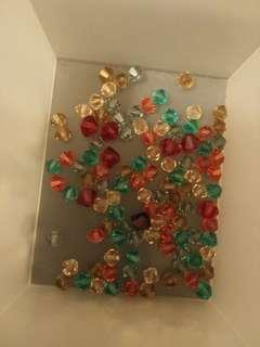 Small coloured beads