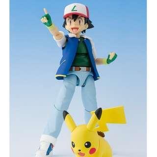 S.H Figuarts Ash Ketchum with Pikachu Bandai